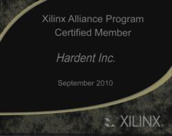 Hardent is now the only Xilinx certified vendor of FPGA design services in Quebec, one of two such vendors certified across Canada, and one of only 8 certified in the Americas.