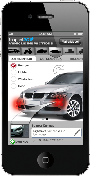 Inspect2GO Vehicle Inspection App