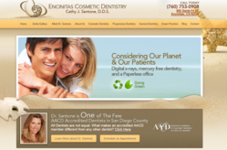 cosmetic, dentistry, dentist, dental, website, design, marketing, encinitas, ca, north, county, san, diego