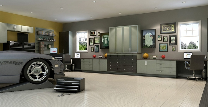 Closet Factory Introduces New And Innovative Custom Garage