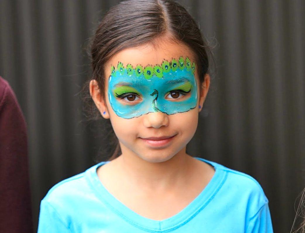 NYC Face Painter Kiki ...