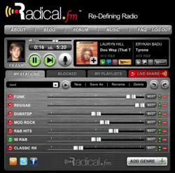 Radical.FM's Unique Player Allows You To Listen To Music Your Way