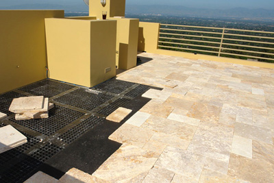 Dexsystems Rooftop Terrace System New Support For Natural