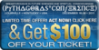 Save $100 off your conference ticket!