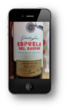 Take a photo of the wine bottles label and text it to wine@agm.tw