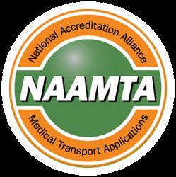accredit, medical, transport, certify