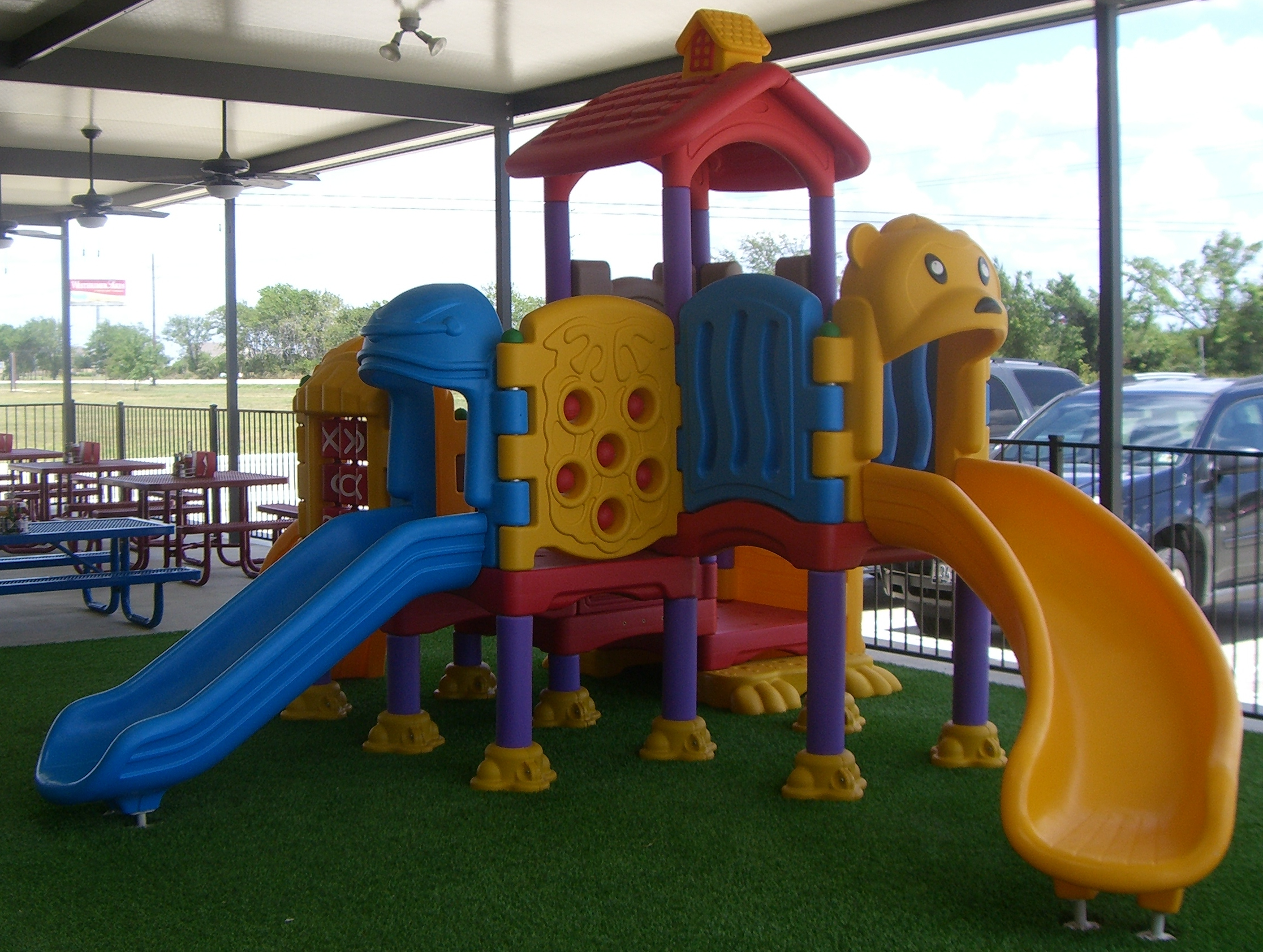 Beyond Your Ordinary playground creates kid friendly dining