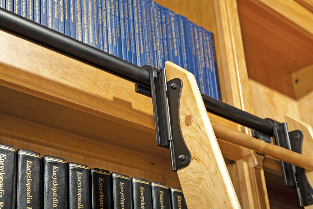 Rockler Combines Style And Strength In New Library Ladder System For Do
