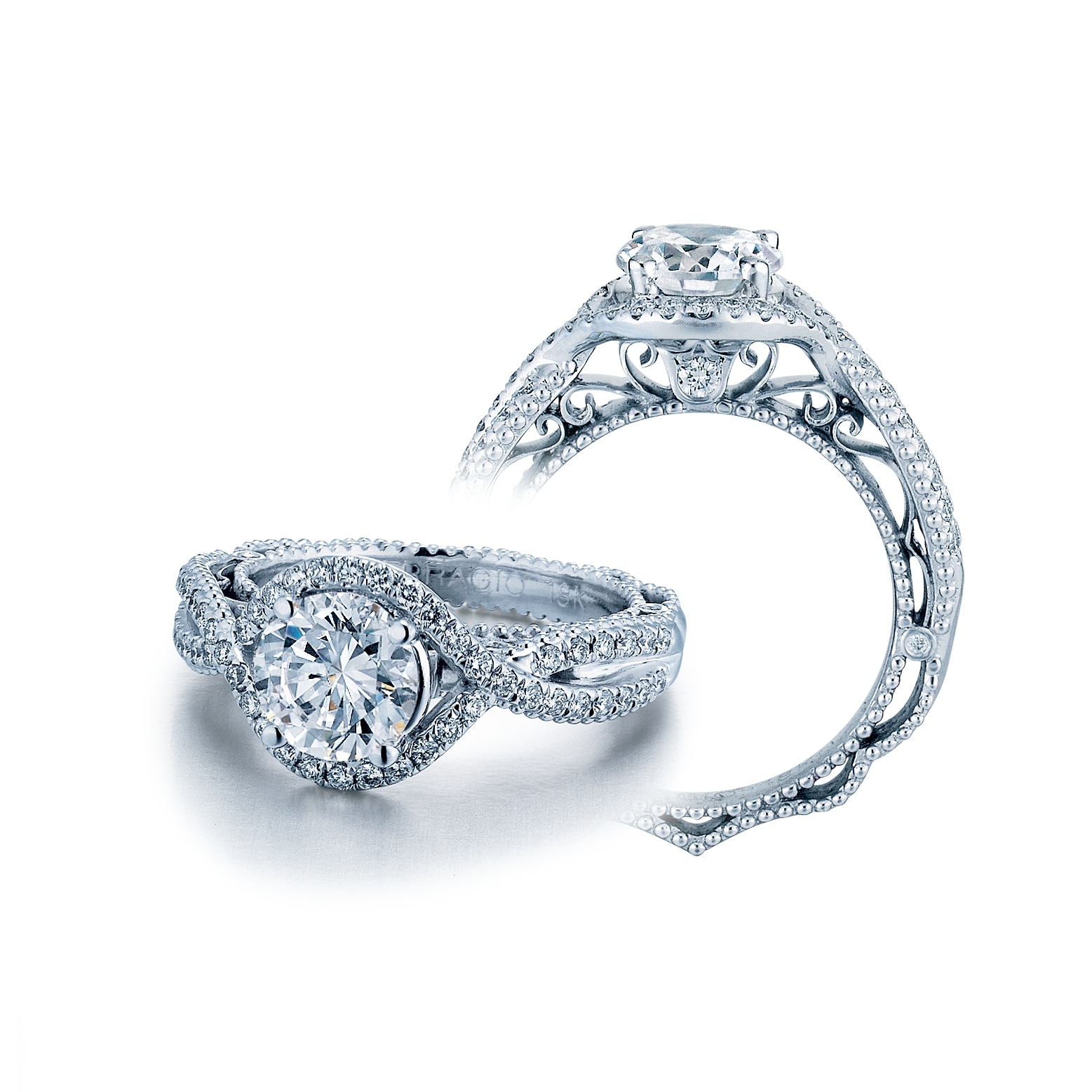 verragio debuts new look of designer engagement ring and wedding