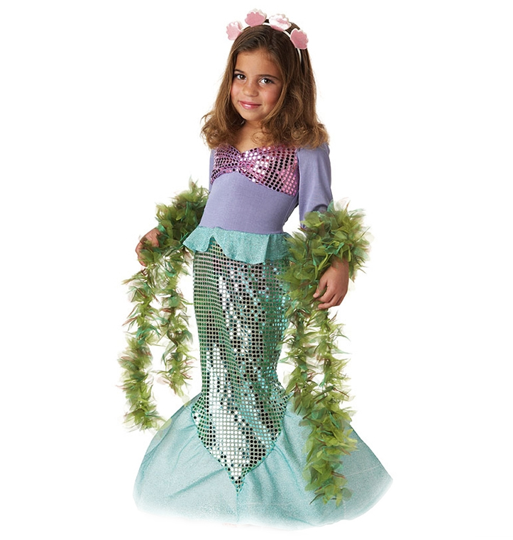Lilu0027 Mermaid Princess Costume for Kids and Toddlers ...  sc 1 th 230 & Mermaid Costumes Make a Splash at TotallyCostumes.com