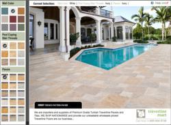 Travertine Mart Launches New Virtual 3D Patio Designer for ... on Virtual Patio Designer id=98676
