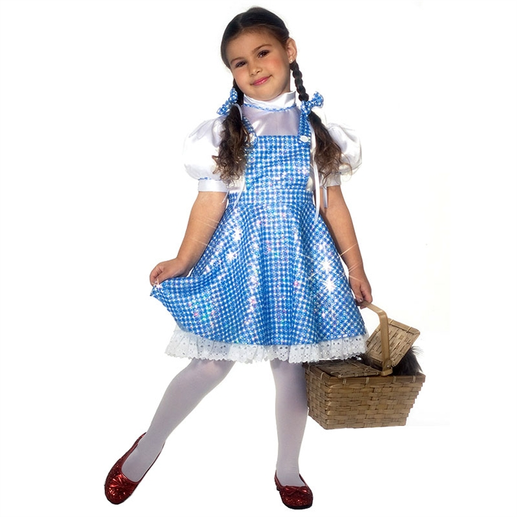Wizard of Oz Dorothy Costume for Kids Classic Wicked Witch ...  sc 1 th 225 & Wizard of Oz Costumes Over the Rainbow at TotallyCostumes.com