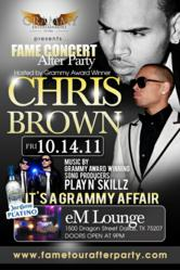 Actor And R Amp B Mega Star Chris Brown Is Set To Host His F A