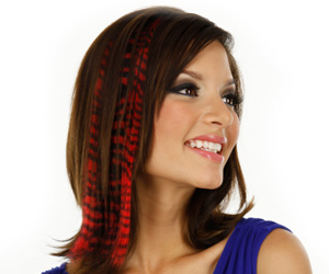 Extensions Com Shows Print Hair Extensions Are The Next Hot Trend