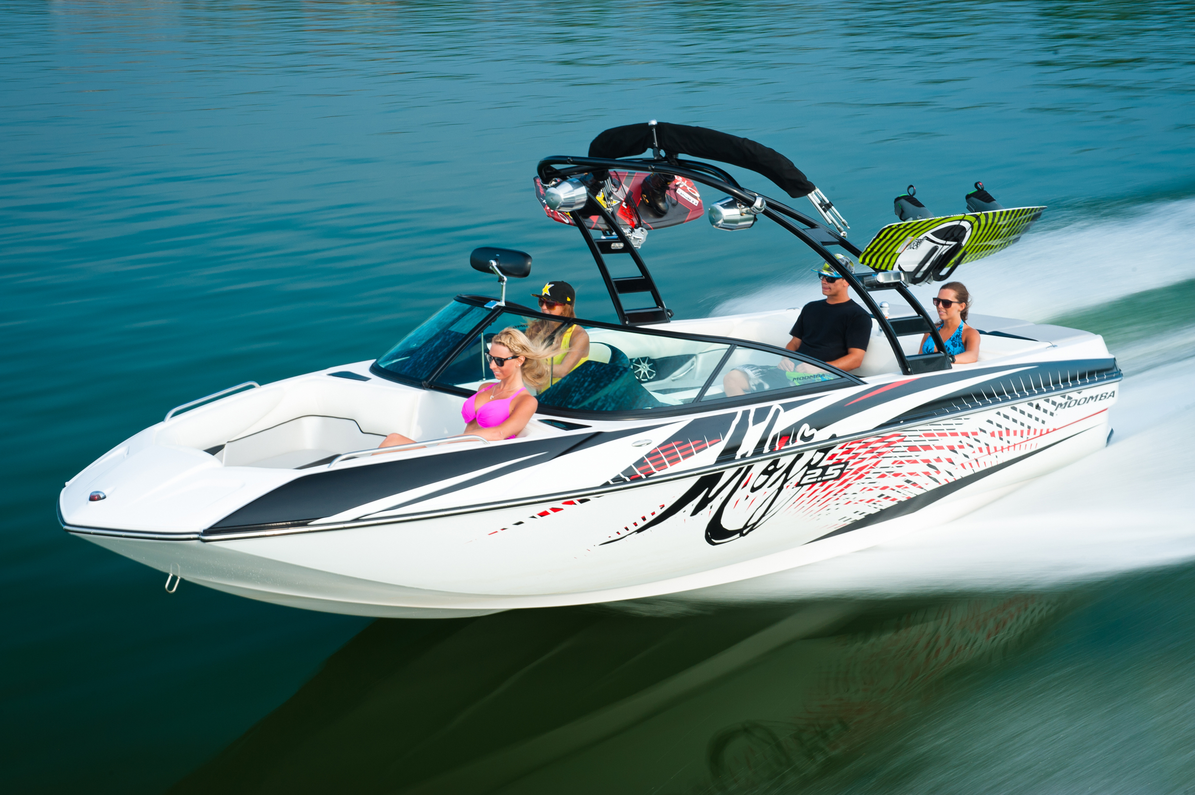 Moomba Puts More Pop In Lake Life With New Mojo Wake Boat