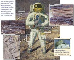 First Men - Neil A. Armstrong - Alan Bean - World-Wide-Art.com