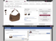 Customers on the new Handbags.com website can recommend and share items with friends to invite advice and opinions.