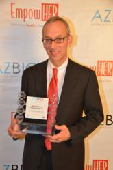 AZBIO Awards, Dr. Marvin Slepian, SynCardia, Freedom driver, Total Artificial Heart, Arizona BioIndustry Association