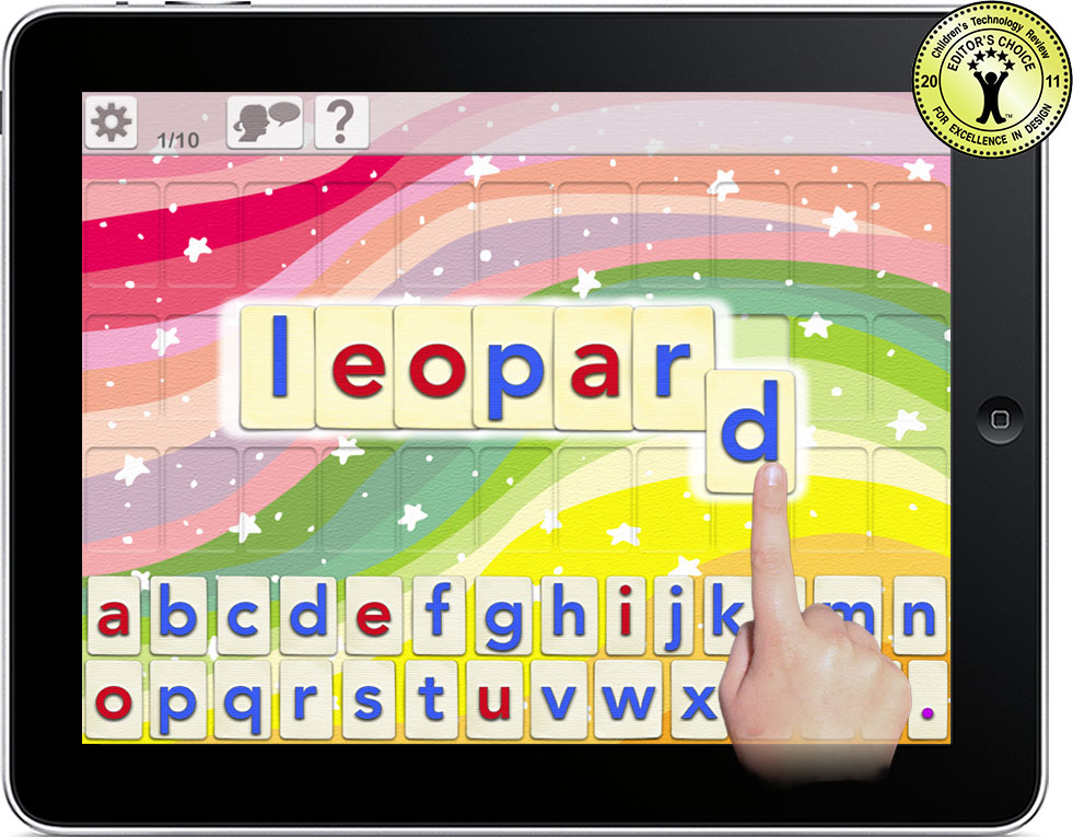 Word Wizard 2 0 for iPad and iPhone - Talking Spelling App