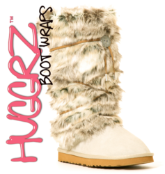 Huggrz Faux Fur Rabbit Boot Wraps