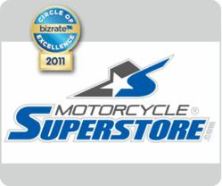 Motorcycle Superstore earns the BizRate Circle of Excellence Award