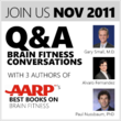 Brain Fitness Q&A Series hosted by SharpBrains.com