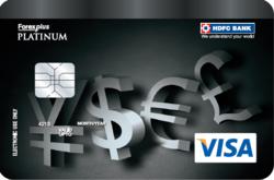 Hdfc visa forex chip card