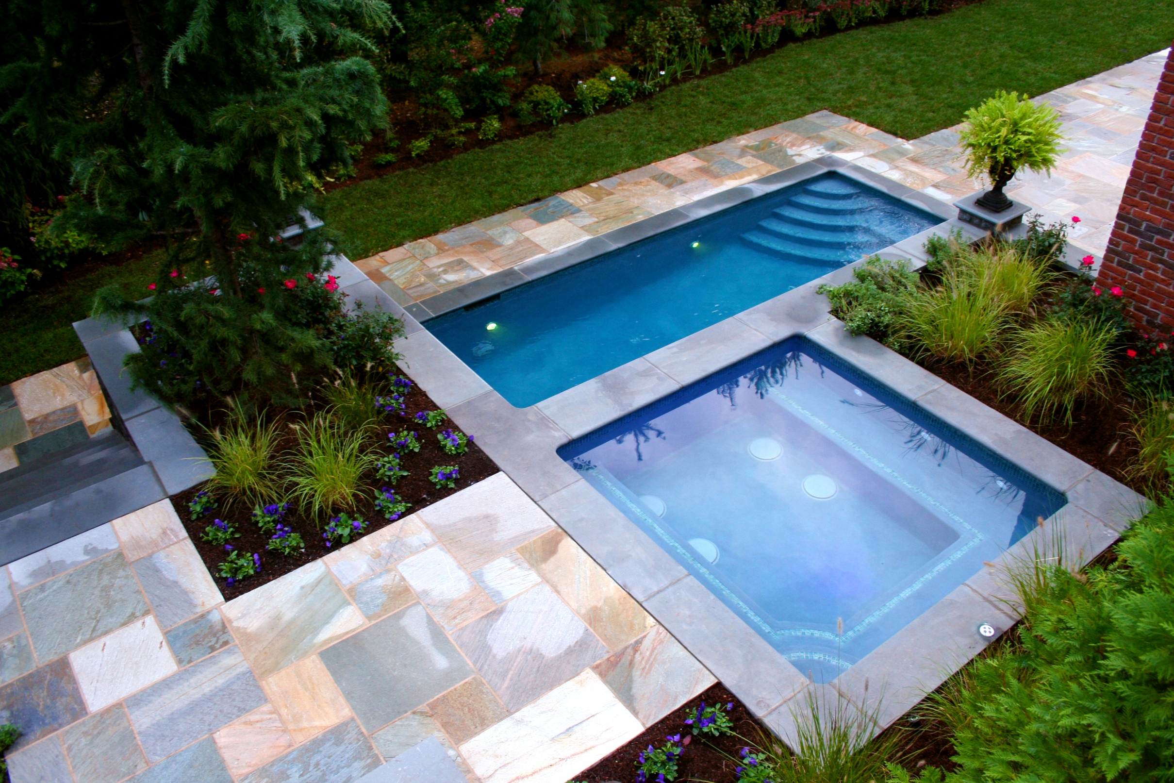 New Jersey In Ground Pool Takes International Pool Awards