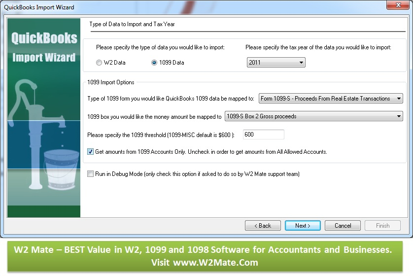 QuickBooks 1099 Electronic Filing: W2 Mate software Introduces