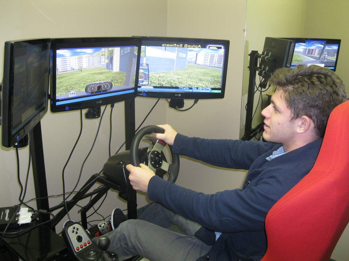 Car And Home Insurance >> Calgary Driving School Makes Driving and Trucking Instruction Easier with New Simulator