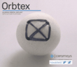 Orbtex bioceramic orbital implant with muscle attachment platform