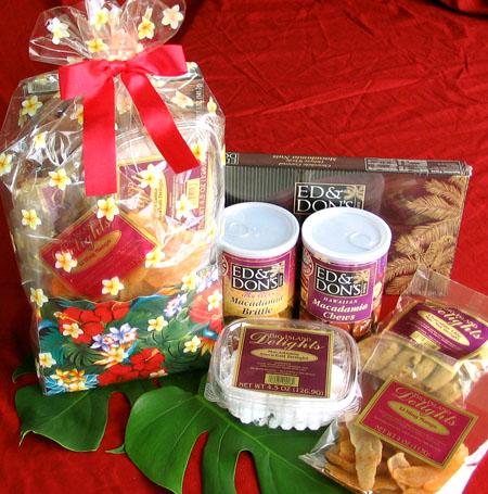 Melekalikimaka Gift BagTreats from Hawaii