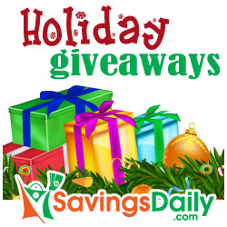 SavingsDaily.com Holiday Giveaways