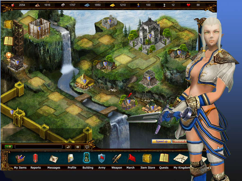Free Game Lords At War MMO for iPhone and iPad Launches Today