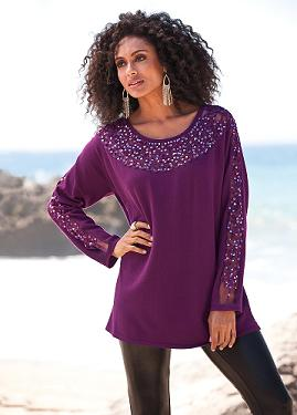 a64160f57493d Roaman s® Heats Up the Holiday Season with Trendy Plus-size Sweater ...