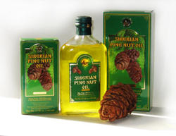 Siberian Pine Nut Oil 250ml and 100 ml
