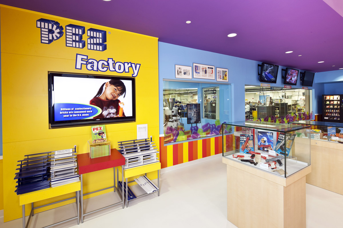 pez candy inc announces opening of visitors center in. Black Bedroom Furniture Sets. Home Design Ideas