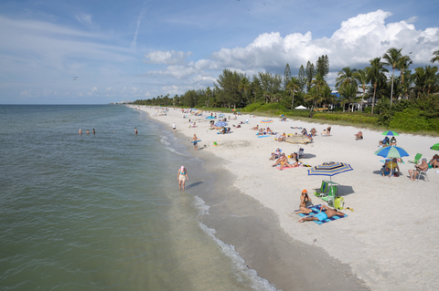 Naples Florida White Sand Beachlowdermilk Beach