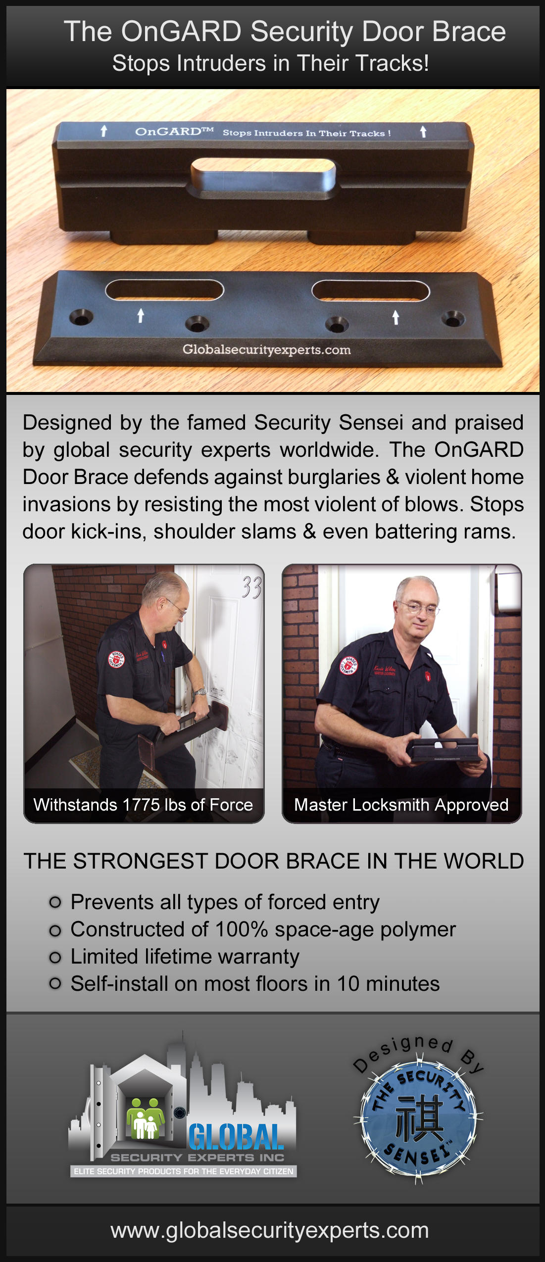 OnGARD Security Door Brace Hailed As Top Twenty 2011 ...