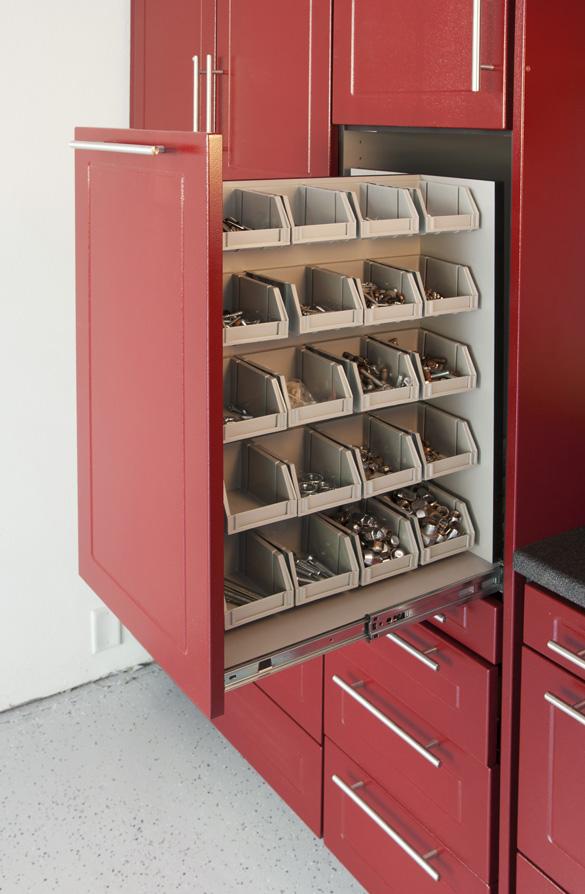 Bin Storage For Small PartsBin Storage Is Just One Of The Garage  Organization Ideas We Utilize While Organizing A Garage