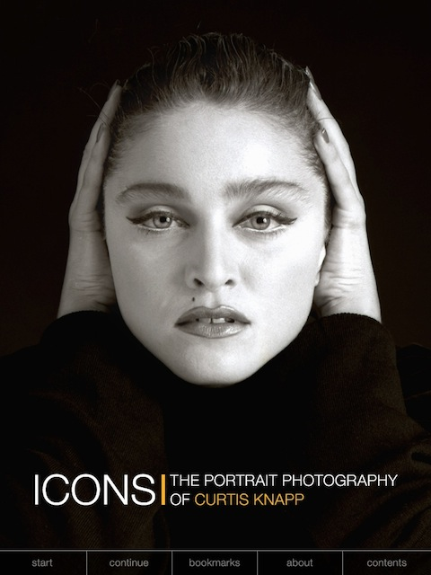 Icons The Portrait Photography Of Curtis KnappMain Menu App Available From ITunes For IPad