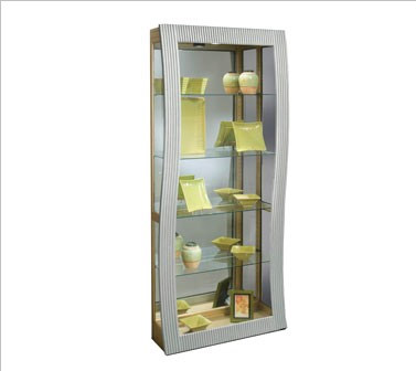 Many Modern Curio Cabinets, Like The Vela 10550 Curio From Philip Reinisch,  Are Available With The Super Bowl Discount From CurioCabinetSpot.com.