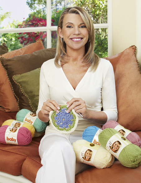 Vanna White To Host Lion Brand Yarn Company Fashion Show At The 2012