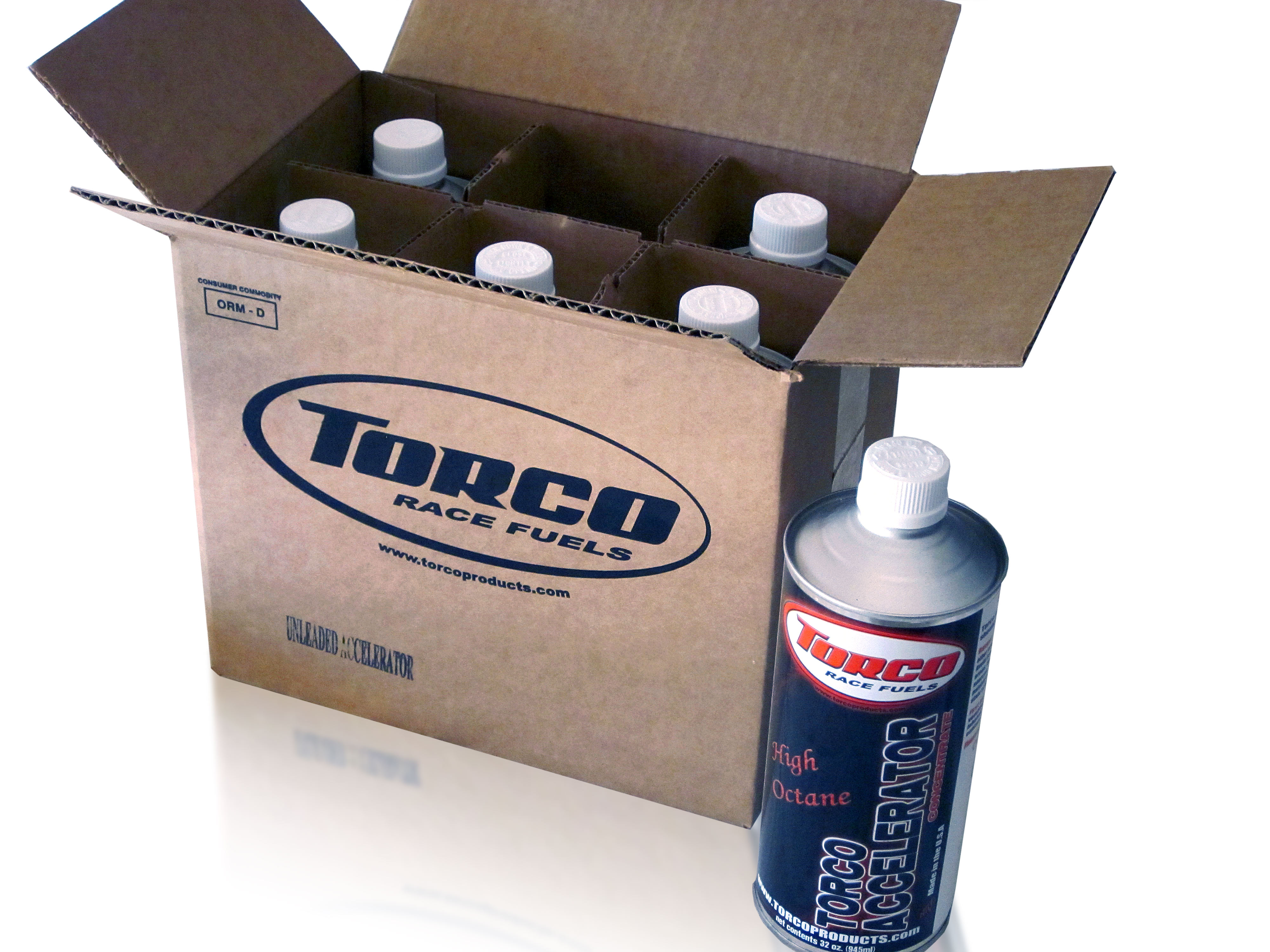 Sales of Torco Race Fuels, Torco Accelerator, and Torco RC