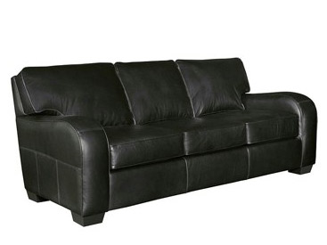 Sleek Contemporary Styles Are Available From Broyhill Such As This Monty L341 Black Leather Sofa
