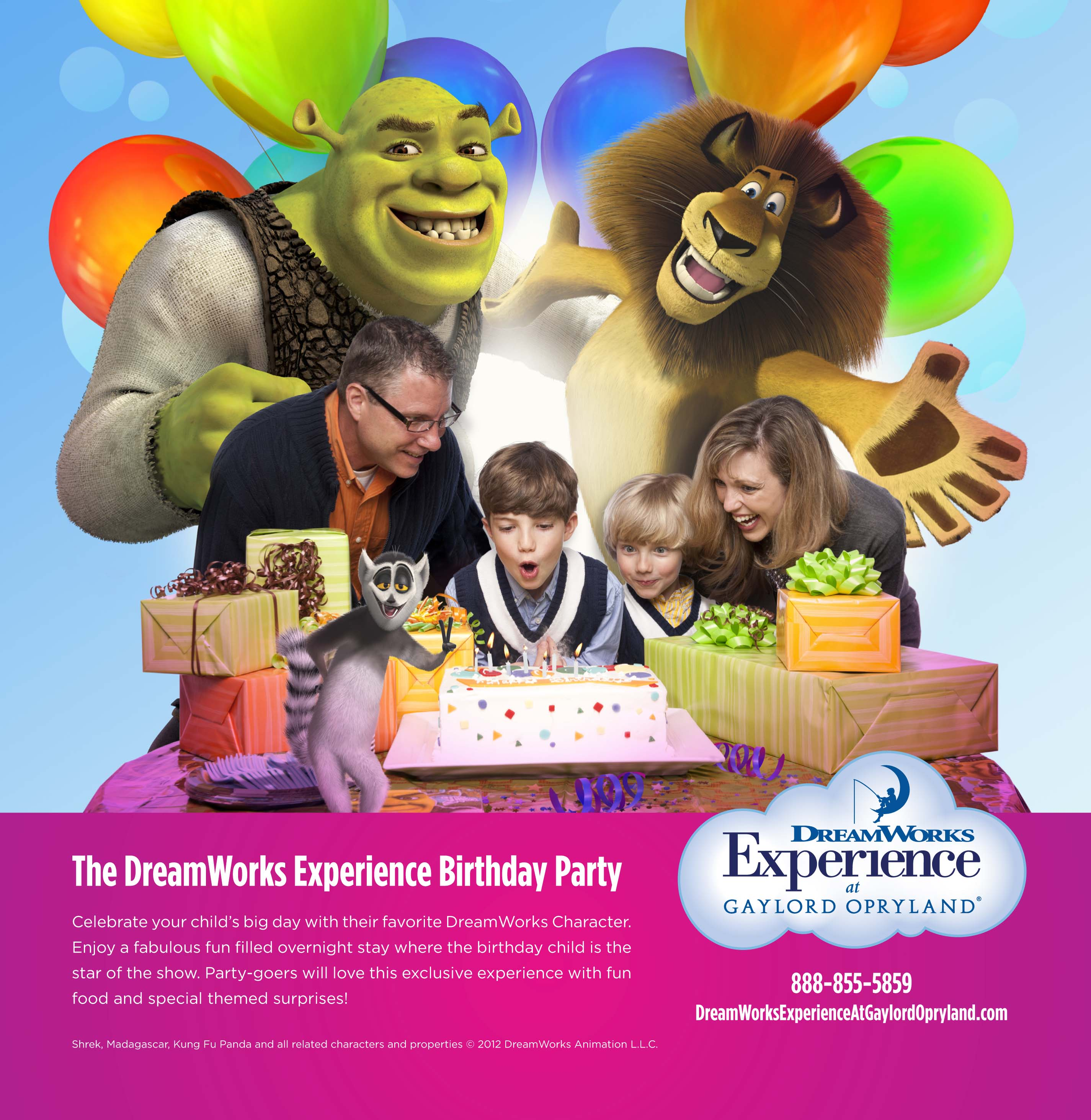 Gaylord Hotels Adds Character to Birthday Parties with The