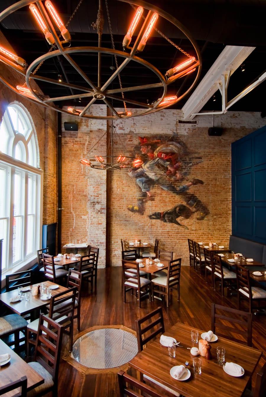 Engine Room Layout: Streetsense Designs New Sixth Engine Restaurant In