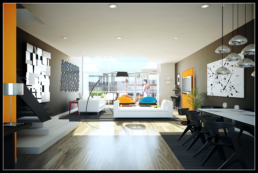 The Modern Quot Loft Condos Open In West Las Vegas