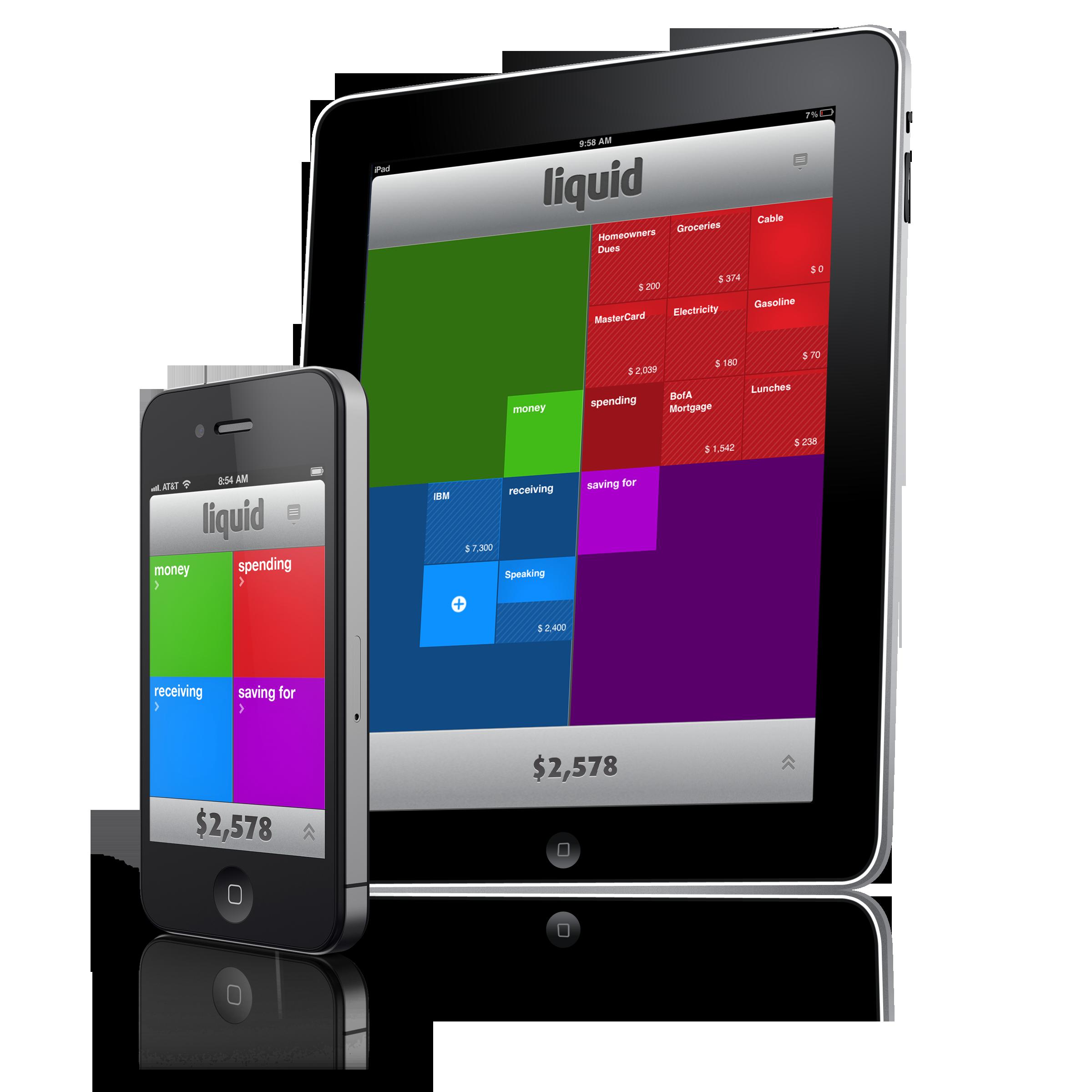 liquid enterprises inc launches personal cash flow app for iphone