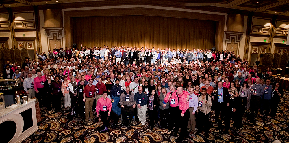 New Record Set Pink Elephant 2012 Conference Attendees Set World